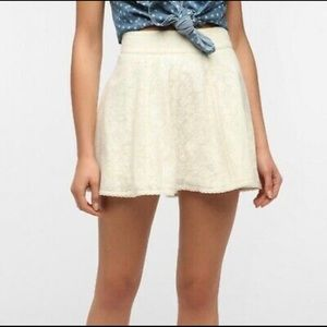 Urban Outfitters Kimchi Blue Lace Overlay Skirt